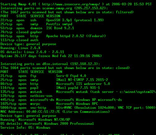 nmap-hacking