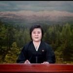 North Korean TV announces the death of Kim Jong Il