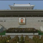 Kim Jong Il memorial ceremony, Pyongyang, Dec. 29, 2011