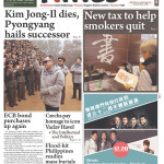 Macau Daily Times, Dec. 20