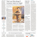 Die Welt, Germany, Dec. 20