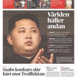 Dagens Nyheter, Stockholm, Dec. 20