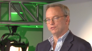 Eric Schmidt, chairman of Google, speaks at the company's Big Tent event in Washington, D.C., on April 26, 2013.