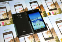 "The Android-based AS1201 ""Arirang"" cell phone, reportedly produced by the May 11 Factory in Pyongyang."
