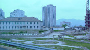 Buildings on the outskirts of Kaesong, North Korea in 2002. (Photo: North Korea Tech)