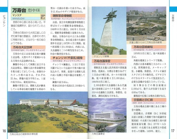 Guide to Mansudae Hill