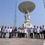 Engineers from North Korea and seven South East Asian countries at a Beidou satellite ground station in China (Image: Xinhua)