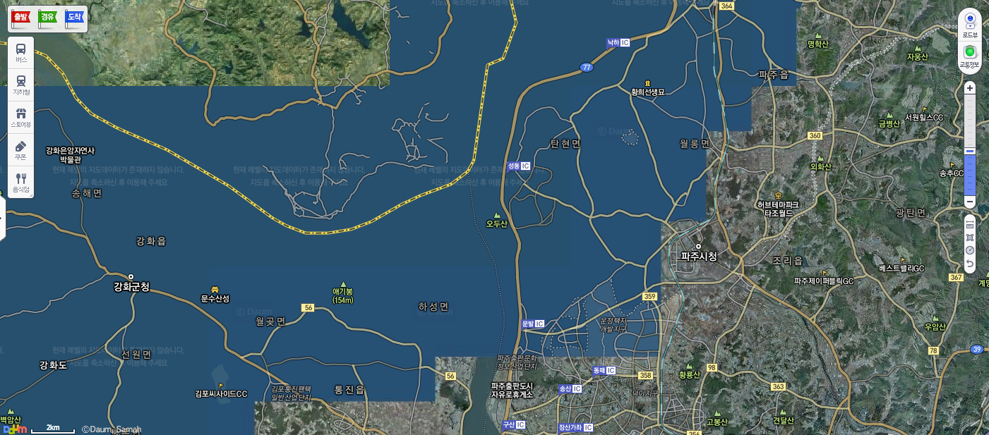 South Koreas Daum Launches North Korean Mapping Service - Korean map