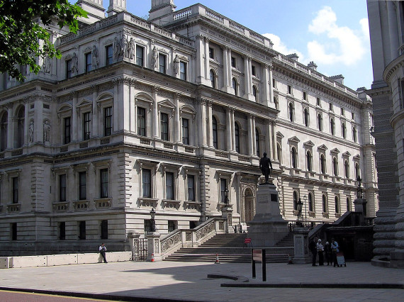 The U.K. Foreign and Commonwealth Office in London on June 12, 2005. (File photo)
