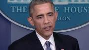 U.S. President Barack Obama speaks at a news conference on December 19, 2014.