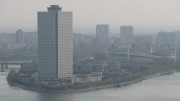 The Yanggakdo International Hotel in Pyongyang on April 15, 2007 (Photo: Chris Price/CC-by-nd-2.0)