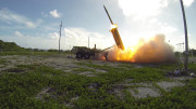 A Terminal High Altitude Area Defense (THAAD) interceptor is launched during a flight test on Nov. 1, 2015. (Photo: Ben Listerman/DOD)