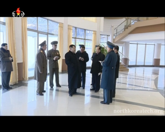 Kim Jong Un at the General Satellite Contol Center in Pyongyang in pictures broadcast by Korean Central Television on Feb. 11, 2016. (Photo: KCTV/North Korea Tech)