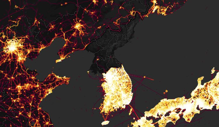 What does Strava data tell us about North Korea?